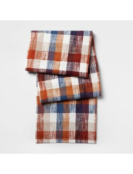 Multi Plaid Table Runner   Threshold™ by Threshold