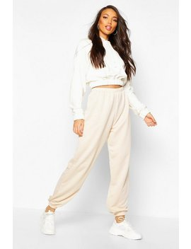 Basic Cuffed Hem Jogger by Boohoo