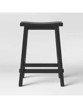 Halifax Farmhouse Wood Counter Stool   Threshold™ by Shop This Collection