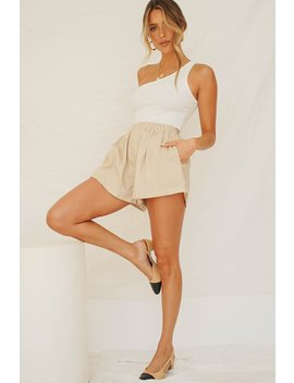 Vg Summer Somewhere Linen Shorts // Natural by Vergegirl