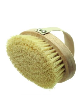 Hydréa London Professional Dry Skin Body Brush With Cactus Bristles   Hard Strength by Hydréa London