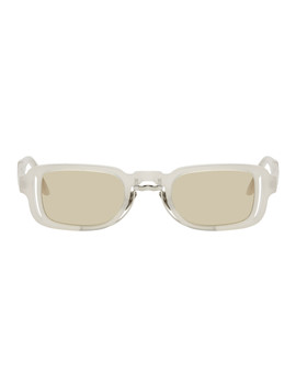 White N12 Pl Sunglasses by Kuboraum