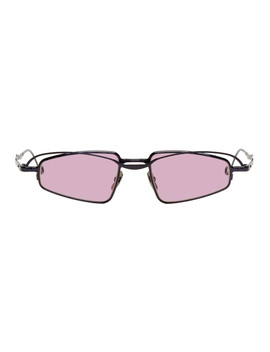 Black & Pink H73 Bl Sunglasses by Kuboraum