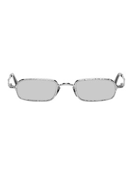 Silver Z18 Is Sunglasses by Kuboraum