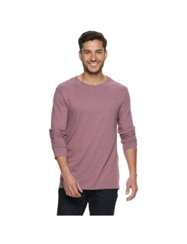 Men's Marc Anthony Essential Slim Fit Heathered Crewneck Tee by Marc Anthony