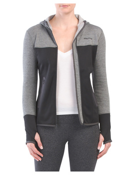 Stretch Fleece Sirona Zip Up Hoodie by Tj Maxx