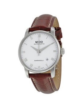 Baroncelli Automatic White Dial Men's Watch M86004268 by Mido