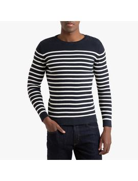 Breton Striped Cotton Jumper by La Redoute Collections