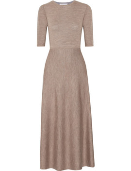 Seymore Reversible Wool Blend Midi Dress by Gabriela Hearst