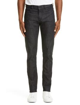 Black Edition Slim Fit Stretch Jeans by Canali