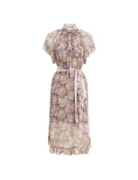 Sabotage Frilled Dress by Zimmermann