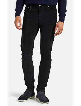 Corduroy Slim Jeans by Isaia