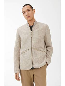 Casentino Wool Bomber Jacket by Arket