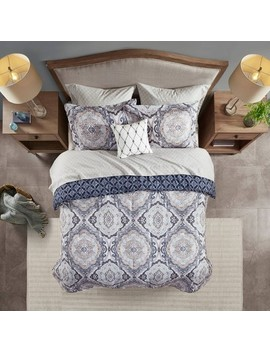 Gordy Reversible Complete Bedding Set Navy by Target