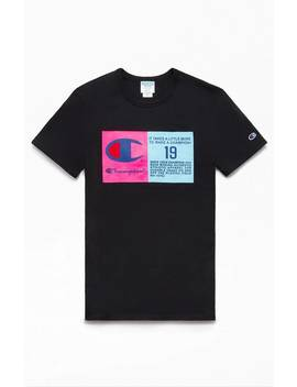 Champion Pop Jock Tag Heritage T Shirt by Pacsun