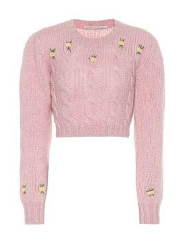 Pullover In Alpaca E Lana by Alessandra Rich