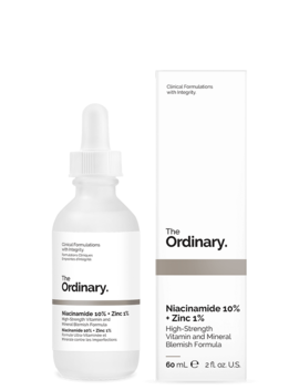 Niacinamide 10% + Zinc 1% by The Ordinary