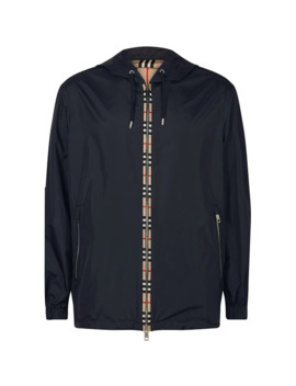 Icon Stripe Detail Jacket by Burberry