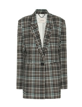 Blazer Charismatic Check In Misto Lana by Dorothee Schumacher