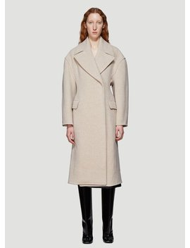 Relaxed Coat Beige by Acne Studios