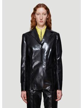 Workwear Blazer In Black by Kwaidan Editions