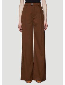Wide Leg Pants In Brown by Kwaidan Editions