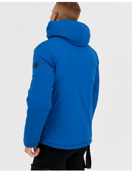 Celio Reversable Puffer Jacket In Blue by Celio