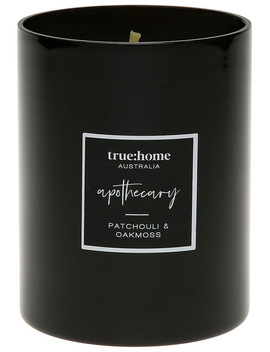 Apothecary Candle Patchouli & Oak Moss by True Home