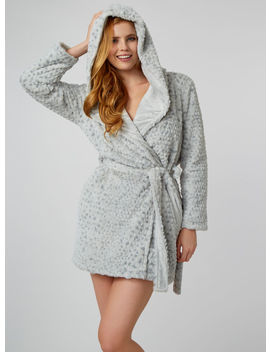 Luxe Honeycomb Dressing Gown by Bouxavenue