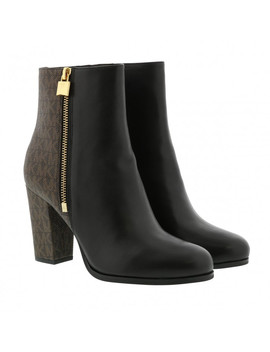 Frenchie Bootie Black Brown by Michael Kors