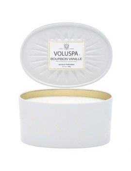 Voluspa® 2 Wick Oval Tin Candle   Bourbon Vanille by Voluspa