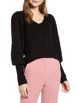 Puff Sleeve Sweater by Rachel Parcell