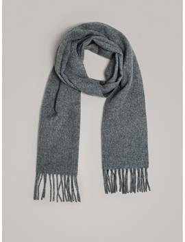Wool And Cashmere Scarf by Massimo Dutti