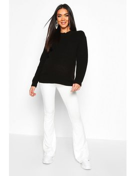 Maternity Crew Neck Jumper by Boohoo