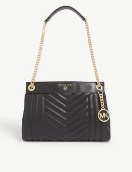Susan Small Quilted Leather Shoulder Bag by Michael Michael Kors