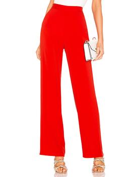 X Naven Cara Pants In Flame Scarlet by Nbd