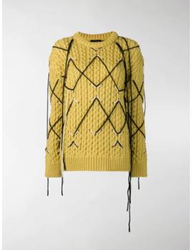 Intarsia Knit Sweater by Calvin Klein 205 W39nyc