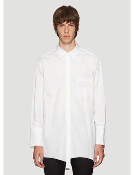 Double Shirt In White by Sulvam