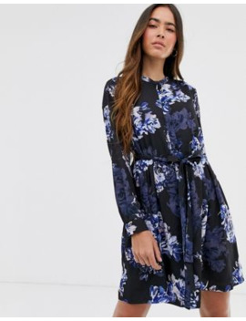 French Connection Floral Mini Shirt Dress by French Connection