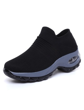 Women's Walking Shoes Breathable Mesh Slip On Athletic Shoes Fashion Sneakers Running Loafers by Wish