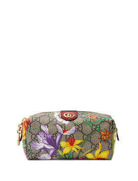 Ophidia Small Gg Flora Cosmetics Clutch Bag by Gucci