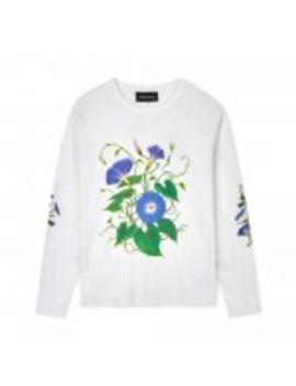 Bianca Chandon Morning Glory Longsleeve T Shirt (White) by Dover Street Market