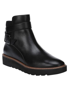 Naturalizer Women's Aster Boot Black Leather by Naturalizer
