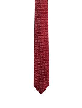 Micro Patterned Tie In Silk Jacquard Micro Patterned Tie In Silk Jacquard by Boss