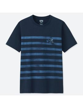 Men Mickey Blue Ut (Short Sleeve Graphic T Shirt) by Uniqlo