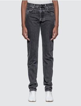 Masc Hi Straight Jeans by Helmut Lang