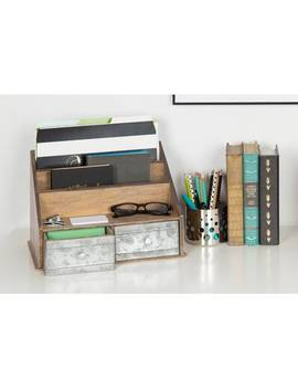 Sunnyvale Manufactured Wood Writing Desk by Ebern Designs