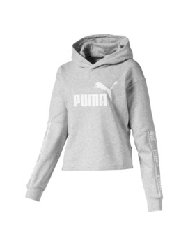 Amplified Cropped Women's Hoodie by Puma
