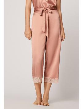 Mit Spitze    Pyjamabroek by Oysho