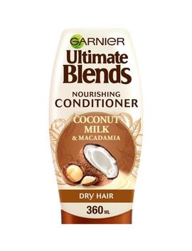 Garnier Ultimate Blends Coconut Milk Dry Hair Conditioner 360ml by Ultimate Blend